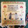 Faithful Friends needlework project