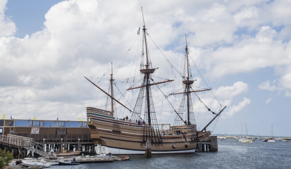 Mayflower Ship Plymouth MA