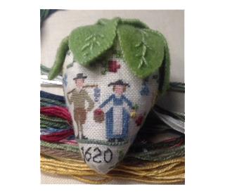 Needlework project by Barbara Jackson